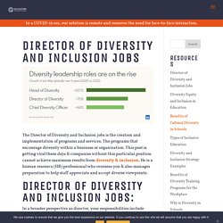 Director of Diversity and Inclusion Jobs - Go Culture International