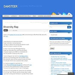 Diversity Rap