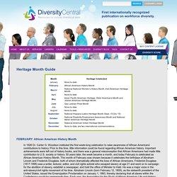DiversityCentral.com: Cultural Diversity at Work