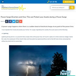 Power Surge Diverters and How This can Protect your Assets during a Power Surge