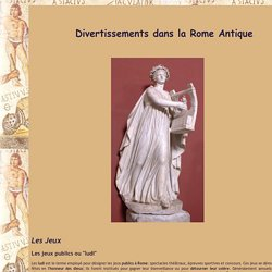 Divertissement sous la Rome Antique