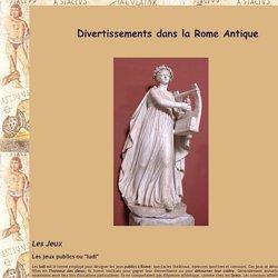 Divertissement sous la Rome Antique