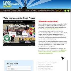 Divest Monsanto Now