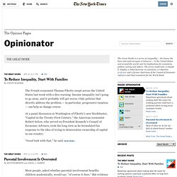 THE GREAT DIVIDE - Opinionator