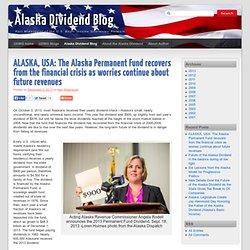Alaska Dividend Blog