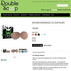 Divine Original ( D-cup & Up) - Double Scoop