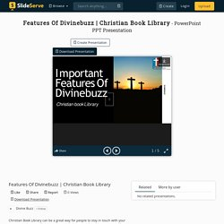 Christian Book Library PowerPoint Presentation - ID:10363160