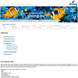 DIVING, SWEDEN, DIVING ABC: Discover underwater world with us
