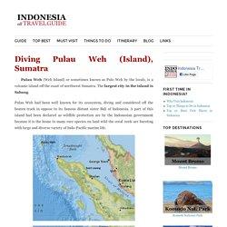 Diving Pulau Weh (Island), Sumatra