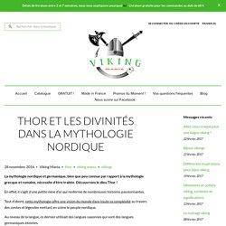 Thor et les divinités dans la mythologie nordique – Viking Mania