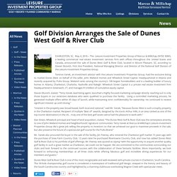 Golf Courses For Sale in Charleston, South Carolina
