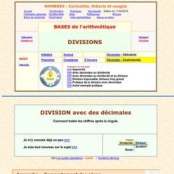division avec des décimales