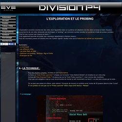 Eve Online - Division P4 - Guide sur l'exploration et le probing