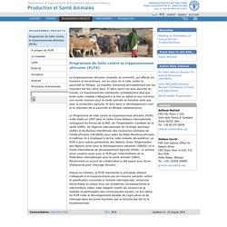 PROGRAMME DE LUTTE CONTRE LA TRYPANOSOMIASE AFRICAINE