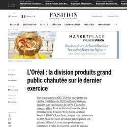 L'Oréal : la division produits grand public chahutée sur le dernier exercice - Actualité : business (#946159)