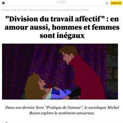 """""""Division du travail affectif"""" : en amour aussi, hommes et femmes sont inégaux"""