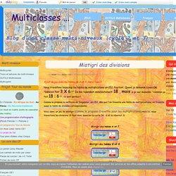 Mistigri des divisions - Multiclasses ...