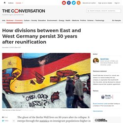 How divisions between East and West Germany persist 30 years after reunification