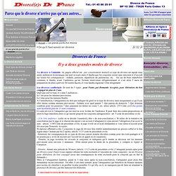Divorce France - Le Portail du Divorce - Ce qu'il faut savoir en divorce