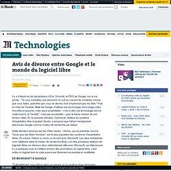 Avis de divorce entre Google et le monde du logiciel libre - LeM