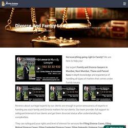 Family & Divorce Lawyers in Mumbai, Navi Mumbai, India - Adv Bindu Dubey & Associates