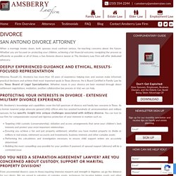 Find the Best Divorce Lawyers in Texas