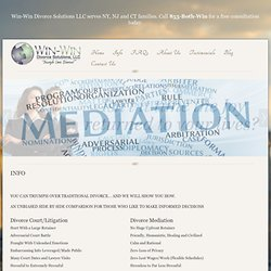 Info About Divorce Mediation Process