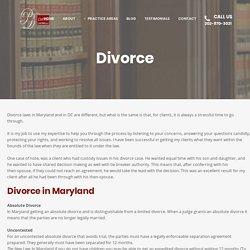 Rockville Divorce Attorney - Pawnee A. Davis Law Firm, LLC.