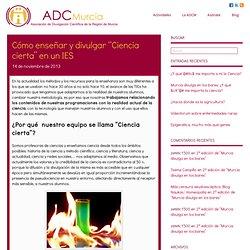 Asociación de Divulgación Científica de la Región de MurciaAsociación de Divulgación Científica de la Región de Murcia