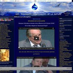 """Réflexion sur la divulgation - Les """"émanants"""",©messagers de la nature"""