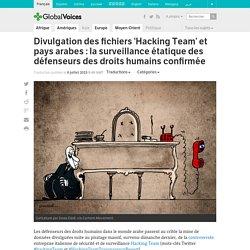 Divulgation des fichiers 'Hacking Team' et pays arabes : la surveillance étatique des défenseurs des droits humains confirmée