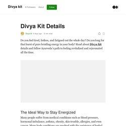 Divya Kit Details