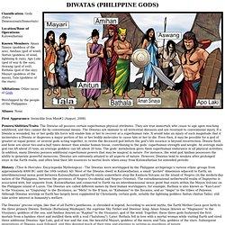 Diwatas (Philippine Gods)