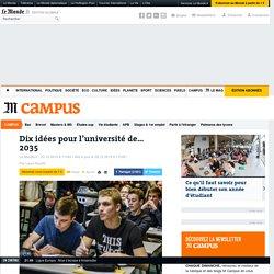 Dix idées pour l'université de… 2035