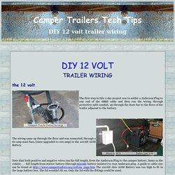 diy 12volt trailer wiring