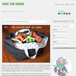 DIY #2 : Sac fourre-tout en tissu