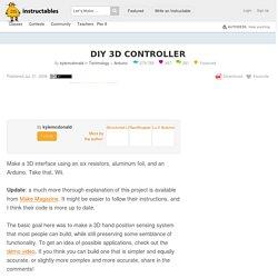 DIY 3D Controller