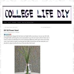 DIY $5 Flower Vase! |