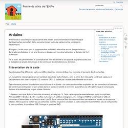 diy:arduino [Ferme de wikis de l'ENFA]