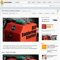 DIY Arduino Soldering Station - All
