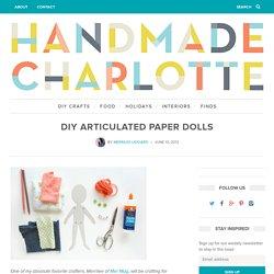 DIY Articulated Paper Dolls
