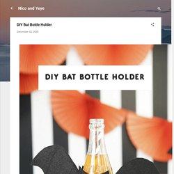 DIY Bat Bottle Holder