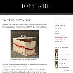 DIY Beekeeper's Toolbox
