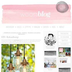 DIY: Bokaallamp - woonblog