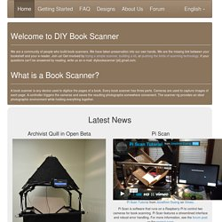 DIY Book Scanning | A forum dedicated to book scanning, open source, DIY digitization.
