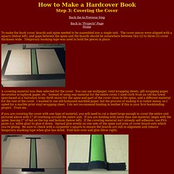 DIY Bookbinding: Step 3