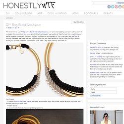 DIY Box Braid Necklace – HonestlyWTF