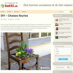 DIY – Chaises fleuries