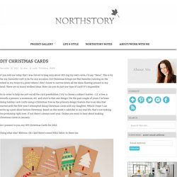 DIY Christmas Cards - northstory