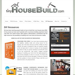 DIY ResourcesTinyHouseBuild.com